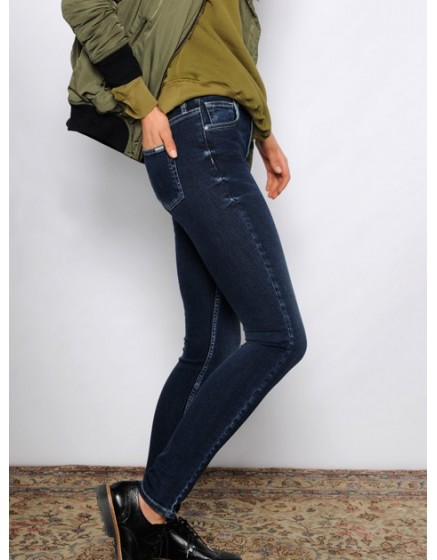 High waist Jean Arnel - denim-50
