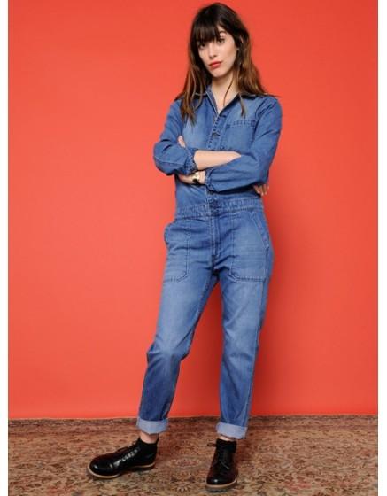 Combinaison en jean Lucy - BLUE