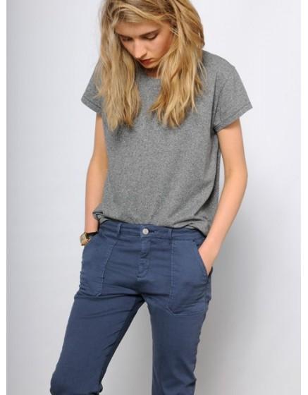 Chino street life Trousers Sandrine - vintage-blue