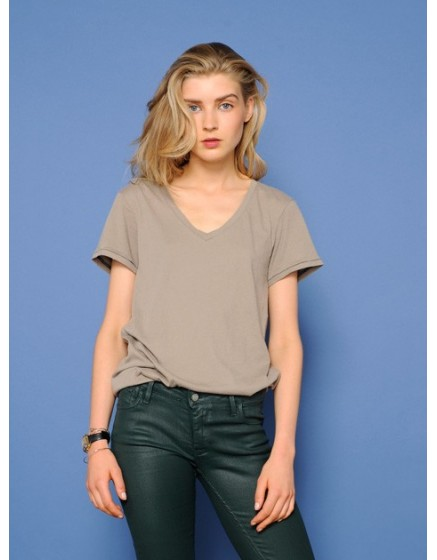 T-shirt à manches courtes Tory - TAUPE