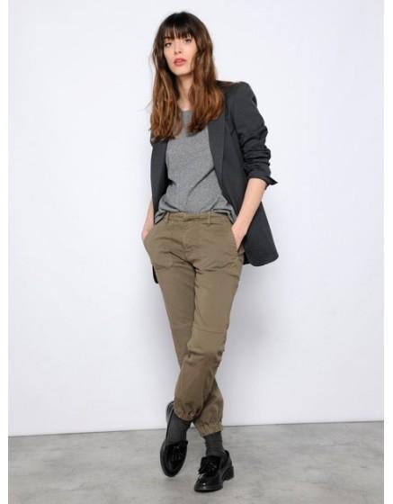 Street trousers Jessica - vintage-kaki