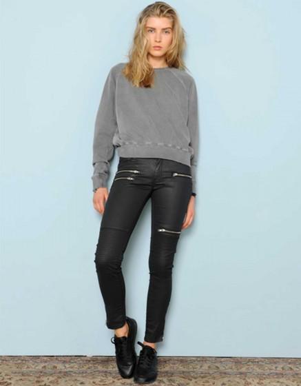 Enduction skinny trousers Joelle