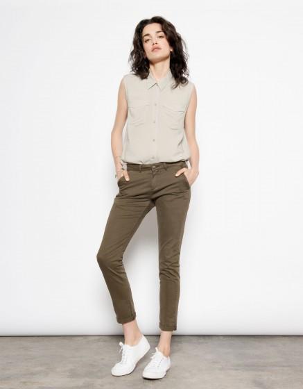 Pantalon chino SANDY - KAKI