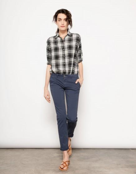 Chino Trousers SANDY - NAVY