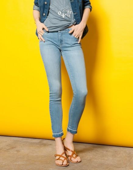Jean skinny cropped Lily - DENIM V-11