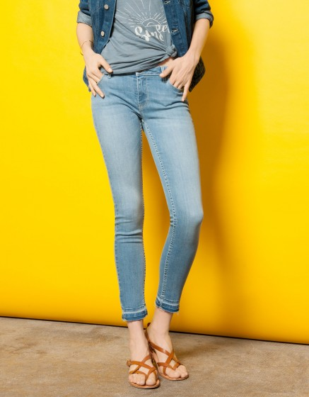 Jean skinny cropped Lily - DENIM V-11
