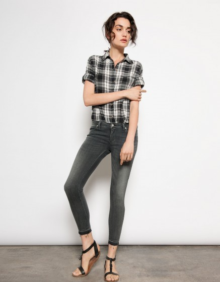 Cropped Skinny jean Lily