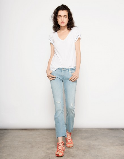 Straight cropped jean Prue