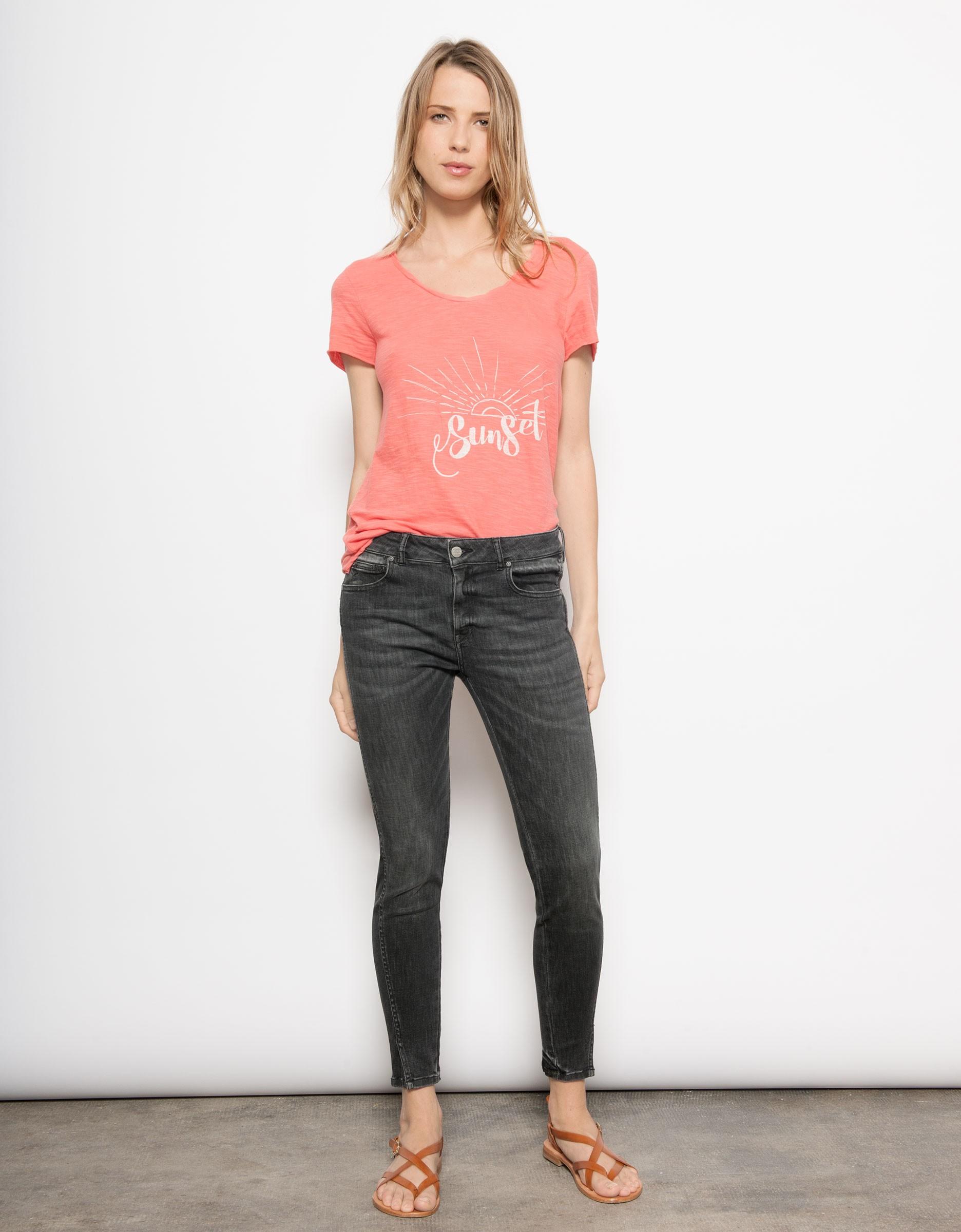 Cropped Skinny jean Daytona - DENIM V-03 - Reiko Jeans