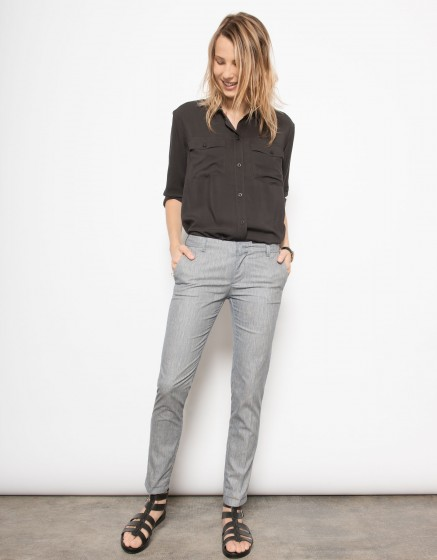 Pantalon cigarette Lizzy-CHINE