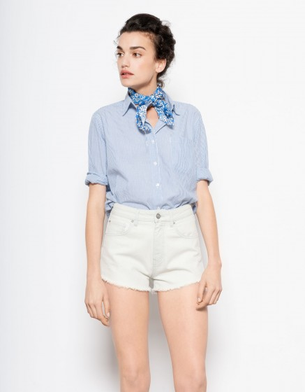 Short Seth-DENIM WHITE