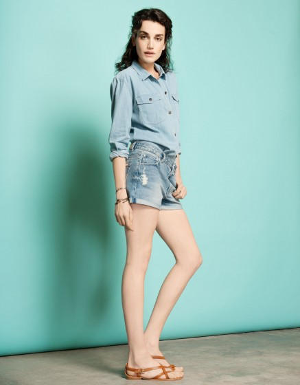 Short Sheldon-DENIM BLUE