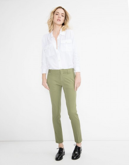 Zipped cigarette Trousers Lizzy