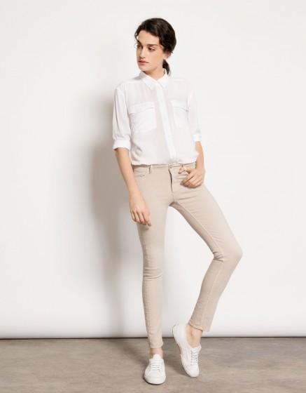 Pantalon skinny couleur Nelly - MISTYROSE