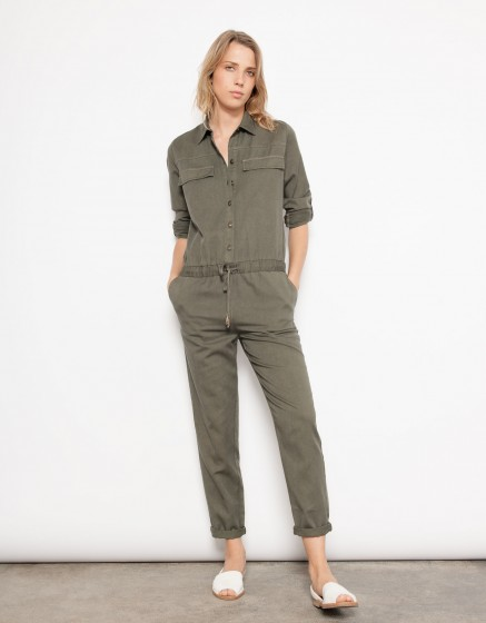 Jumpsuit Laureen - KAKI