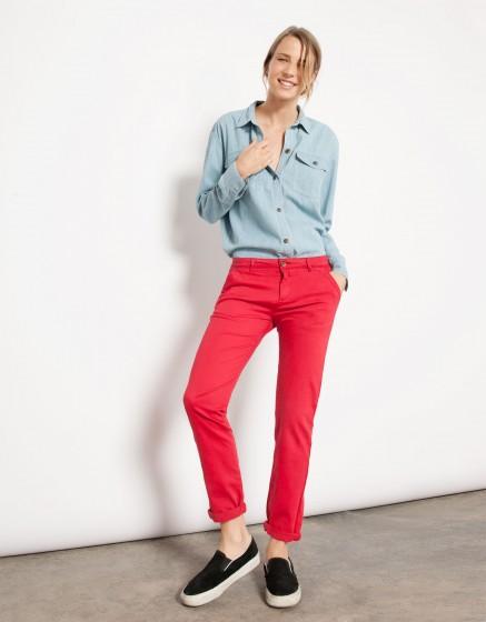 Chemise en jean Coly - LIGHT BLUE
