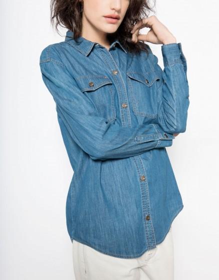 Jean Shirt Coly - MEDIUM BLUE