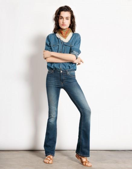 Flare jean Phoebe - DENIM B-65