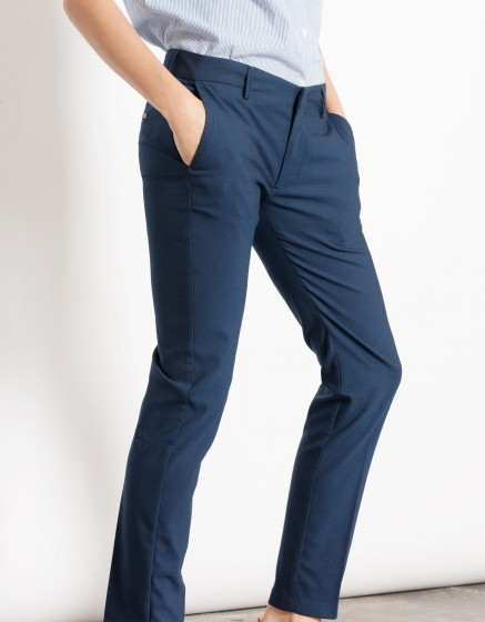 Pantalon cigarette Lizzy - PLAIN NAVY