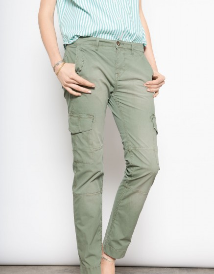 Street trousers Cameron - KAKI