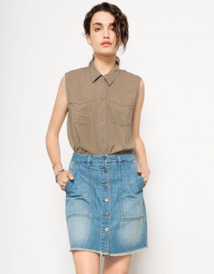 Skirt Joana - DENIM BLUE