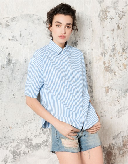 Shirt Cleo - STRIPES BLUE