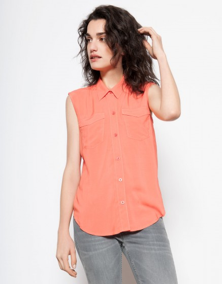 Flow shirt Cindy - CAPUCINE
