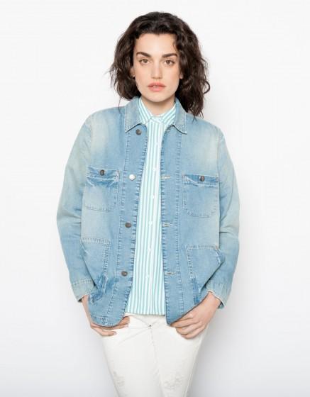 Jean jacket Vera - DENIM BLUE