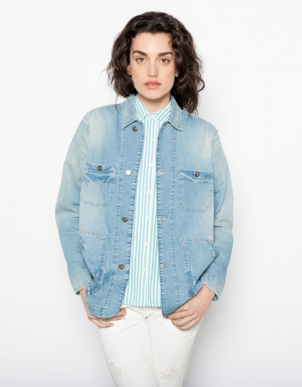 Jean jacket Vera - DENIM BLUE