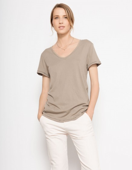 T-shirt Tory - TAUPE