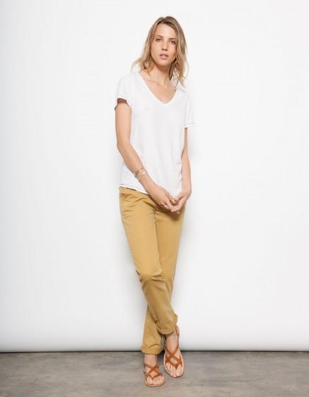 T-shirt Tory - WHITE