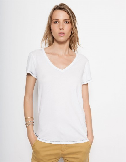T-shirt Tory - WHITE