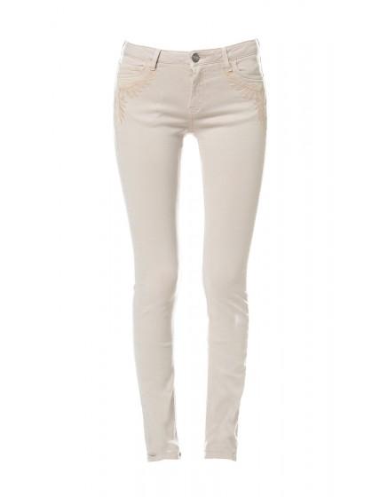 Pantalon skinny brodé Tawana - GREGE