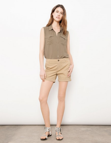 Bermuda short Stacy - BEIGE
