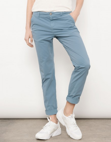 Chino Trousers Pam - BLUE JEAN
