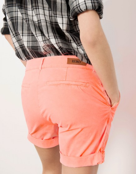 Bermuda short Stacy - CORAIL NEON