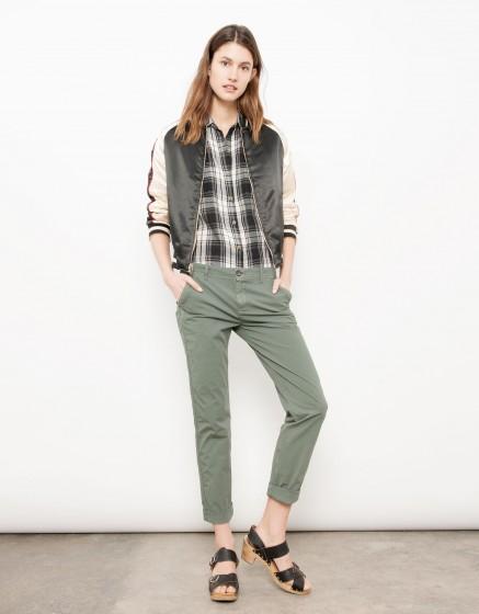Chino Trousers Pam - BETON