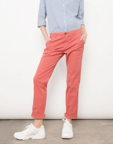Pantalon chino Pam - CAPUCINE