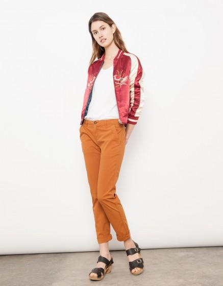 Pantalon chino Pam - PECAN