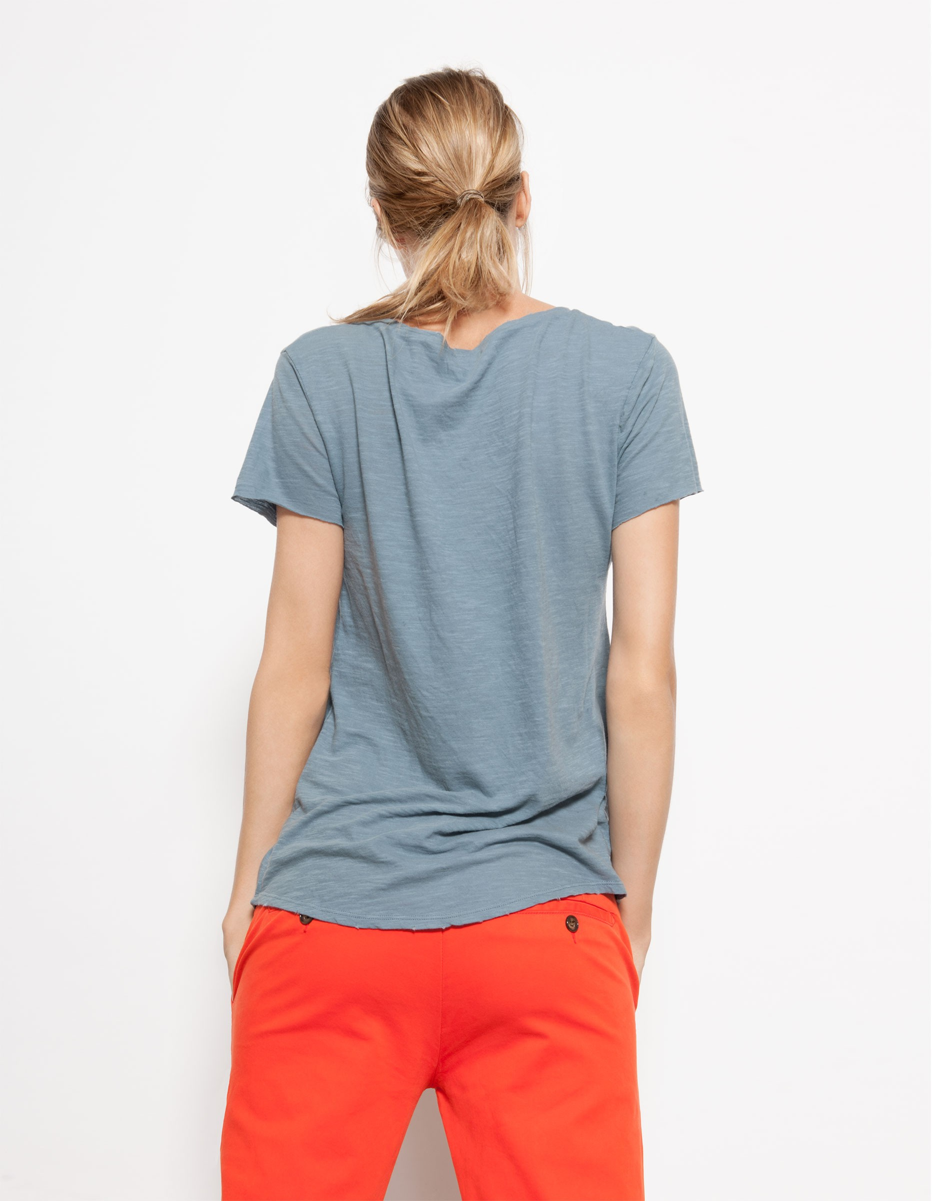 t shirt uma blue jean reiko jeans