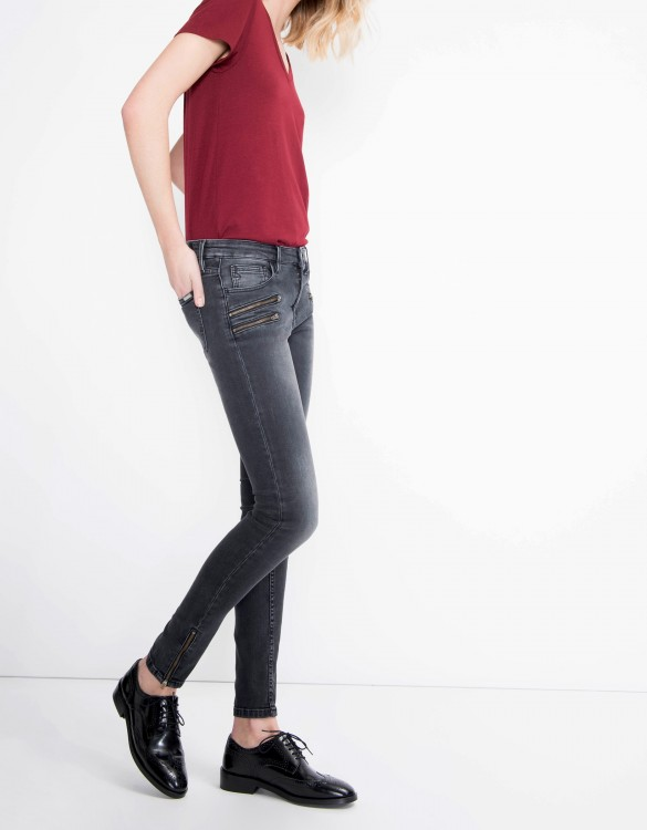 Skinny jean Ella - BLACK DENIM