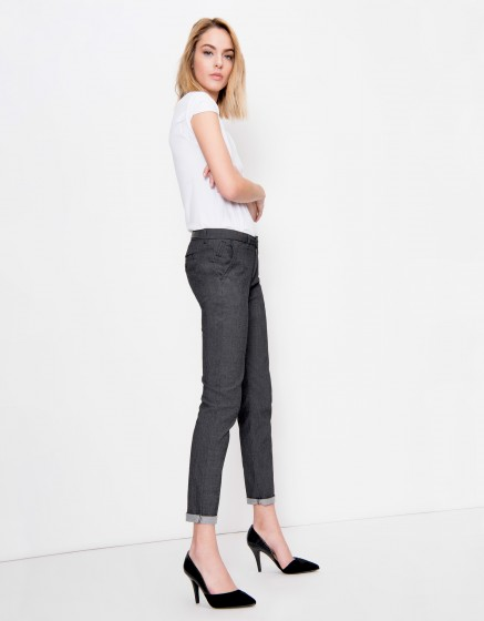 Pantalon chino Sandy Fancy - TWEED