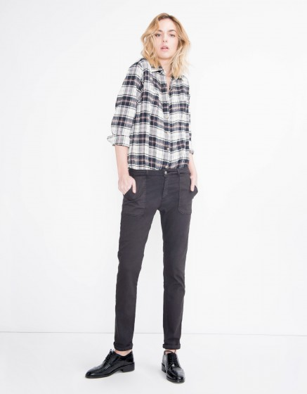 Street trousers Sandrine - CARBONE