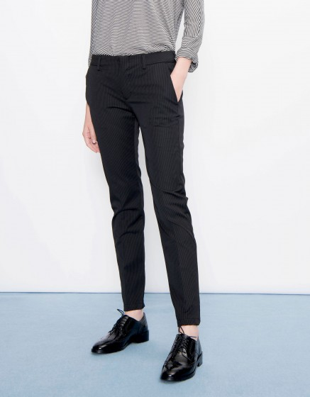 Cigarette Trousers Lizzy Fancy - STATES BLACK