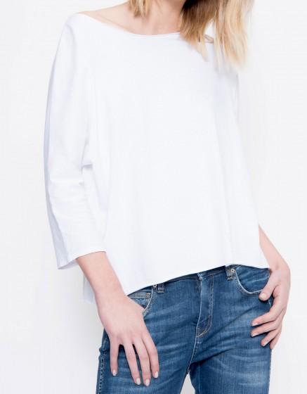 T-shirt loose Tyron - WHITE
