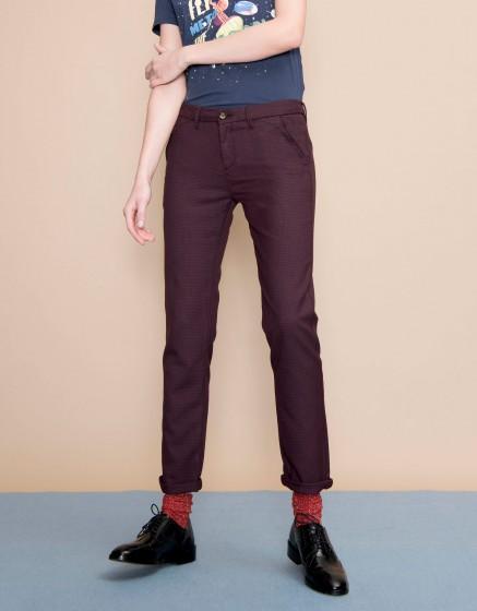 Chino Trousers Sandy Fancy - MAZE