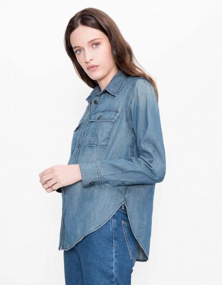 Denim shirt Carlyne - DENIM BLUE
