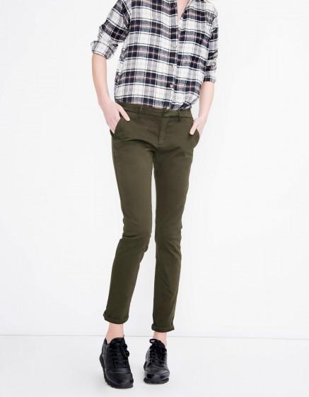 Pantalon chino Sandy Basic - DARK KAKI