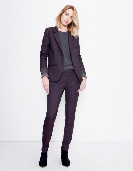 Blazer jacket Blair Fancy - SQUARE CARMIN