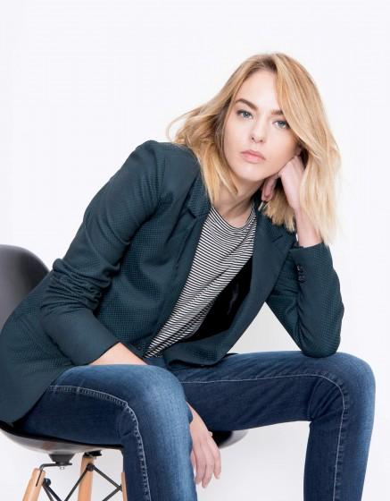 Blazer jacket Blair Fancy - SQUARE GREEN